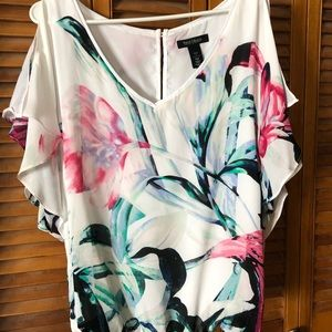 Ladies silk blouse